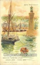 shi100037 - Biscuits Lefevre Utile Sail Boat Postcard Post Card