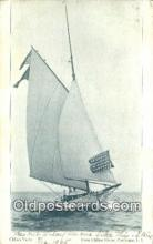 shi100043 - Clifton Yacht, Patchogue, Long Island, LI USA Sail Boat Postcard Post Card