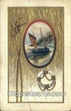 shi100062 - Sail Boat Postcard Post Card