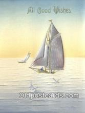 shi100071 - Sail Boat Postcard Post Card
