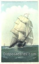 shi100085 - Old Ironsides  Sail Boat Postcard Post Card