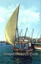 shi100103 - Aden, Arab Sail Boat, Maala Sail Boat Postcard Post Card