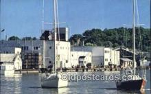 shi100113 - Port Dover, Ontario, Canada Sail Boat Postcard Post Card