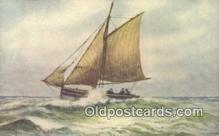 shi100132 - Sail Boat Postcard Post Card