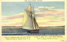 shi100137 - Sail Boat Postcard Post Card