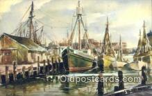 shi100138 - James Murray Sail Boat Postcard Post Card
