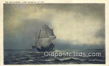 shi100142 - The Mayflower Sail Boat Postcard Post Card