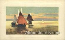 shi100151 - Sail Boat Postcard Post Card