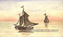 shi100152 - Sail Boat Postcard Post Card
