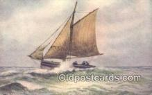 shi100154 - Sail Boat Postcard Post Card