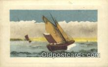 shi100157 - Sail Boat Postcard Post Card