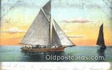 shi100166 - Sail Boat Postcard Post Card