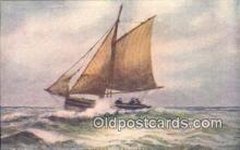 shi100177 - Sail Boat Postcard Post Card