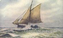 shi100180 - Sail Boat Postcard Post Card