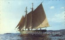 shi100182 - The Mary E Sail Boat Postcard Post Card