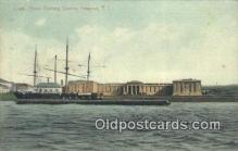 shi100189 - Naval Training Station, Newport, Rhode Island, RI USA Sail Boat Postcard Post Card