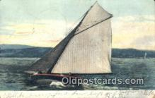 shi100193 - Sail Boat Postcard Post Card