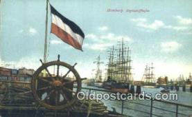 shi100209 - Hamburg, Segelschiffhanfen Sail Boat Postcard Post Card