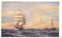 shi100218 - Sail Boat Postcard Post Card