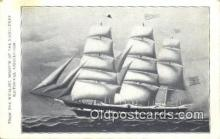 shi100219 - Whaling Museum Nantucket, Whalship Horatio Sail Boat Postcard Post Card
