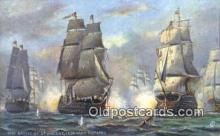 shi100223 - Battle Of St Vincent Sail Boat Postcard Post Card