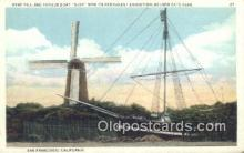 shi100228 - Gjoa, San Francisco, California, CA USA Sail Boat Postcard Post Card