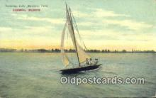 shi100233 - Yachting Lake Manawa, Iowa, IA, USA Sail Boat Postcard Post Card