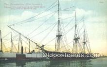 shi100243 - The Constitution Old Ironsides Sail Boat Postcard Post Card