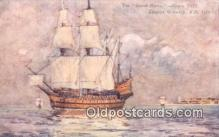 shi100244 - The Great Henry VIII Sail Boat Postcard Post Card