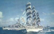 shi100245 - The Christian Radich Windjammer Sail Boat Postcard Post Card