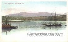 shi100257 - Castskill Mountains Sail Boat Postcard Post Card