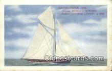 shi100262 - The Mayflower Sail Boat Postcard Post Card