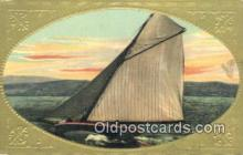 shi100267 - Sail Boat Postcard Post Card