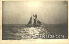 shi100275 - Sail Boat Postcard Post Card