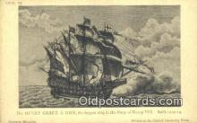 shi100282 - The Henry Grace A Dieu, British Navy Sail Boat Postcard Post Card
