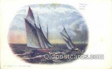 shi100289 - Sail Boat Postcard Post Card
