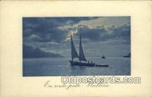 shi100296 - Sail Boat Postcard Post Card