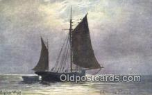 shi100297 - Sail Boat Postcard Post Card