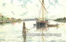 shi100299 - Sail Boat Postcard Post Card
