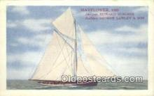 shi100303 - Mayflower Sail Boat Postcard Post Card