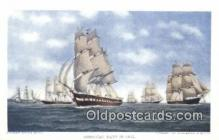 shi100313 - American Navy Sail Boat Postcard Post Card
