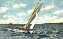 shi100315 - Sail Boat Postcard Post Card