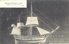 shi100336 - Musee De Marine Sail Boat Postcard Post Card