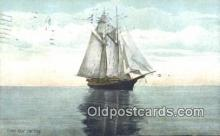 shi100342 - Sail Boat Postcard Post Card