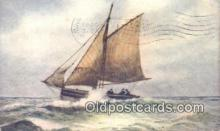 shi100346 - Sail Boat Postcard Post Card