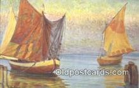 shi100357 - Italienische Fischerboote Sail Boat Postcard Post Card