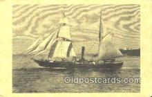 shi100374 - Larger Continental Size Sail Boat Postcard Post Card