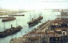 shi100379 - Port Said Vue Generale Du Canal Sail Boat Postcard Post Card