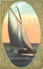 shi100384 - Sail Boat Postcard Post Card