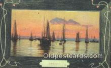 shi100398 - Sail Boat Postcard Post Card